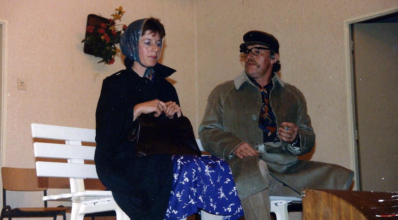 Ria Hemmen en Lucas Schuten heel wat jaren geleden